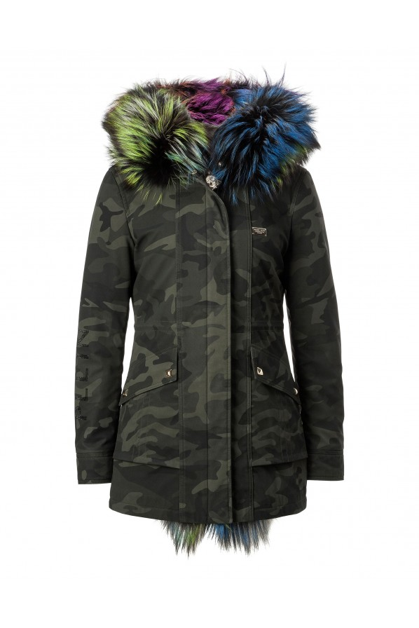 "PHILIPP PLEIN PARKA ""FASHION DISTRICT"""