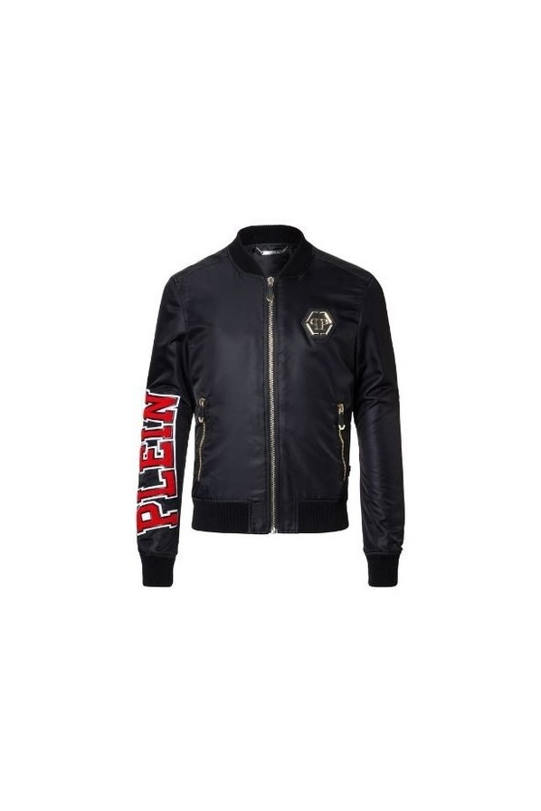 "PHILIPP PLEIN MEN KURTKA ""NEVER GIVE UP"""