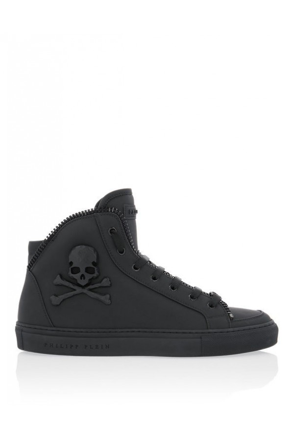 "PHILIPP PLEIN MEN SNEAKERSY ""GREEN ONE"""