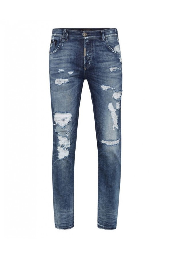 "PHILIPP PLEIN MEN JEANSY ""STATEMENT"""