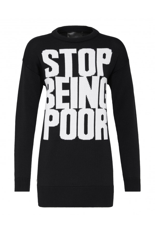 "PHILIPP PLEIN SWETER ""STATEMENT"""