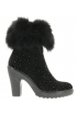 DIAVOLEZZA BOTKI BLACK FOX VELOUR
