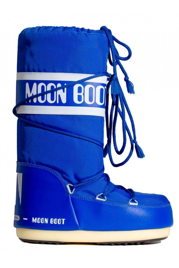 MOON BOOT ŚNIEGOWCE NYLON DENIM