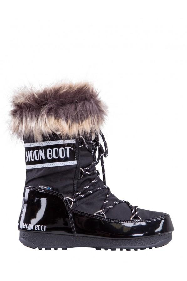 MOON BOOT MONACO LOW BLACK