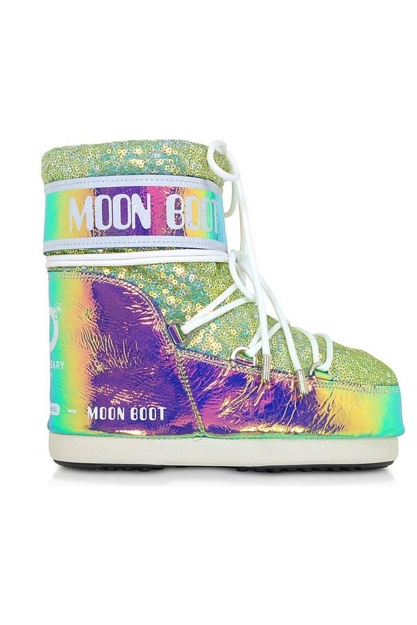 MOON BOOT CLASSIC LOW ACQUA MARINA
