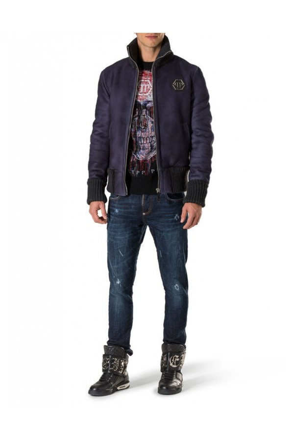 "PHILIPP PLEIN MEN JEANSY ""ONE CHANGE"""