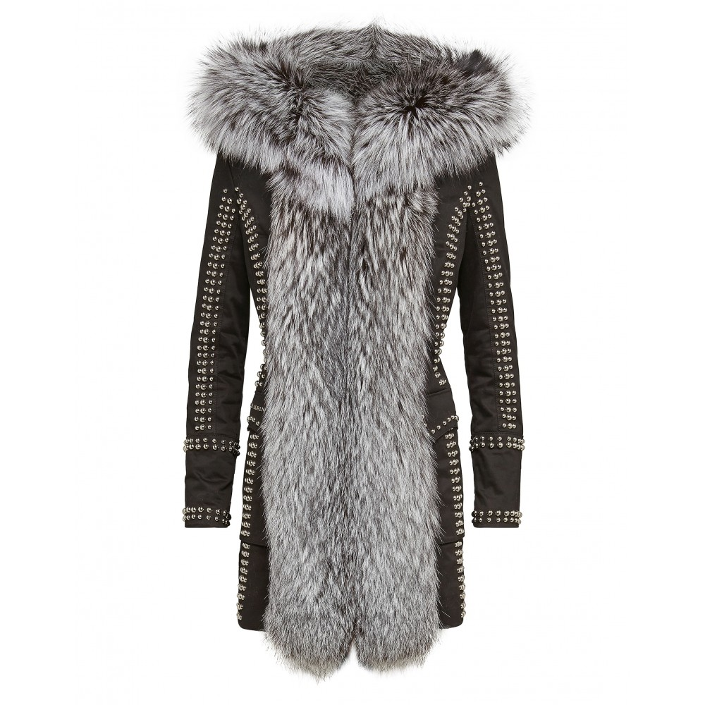 "PHILIPP PLEIN PARKA ""WORK IT OUT"""