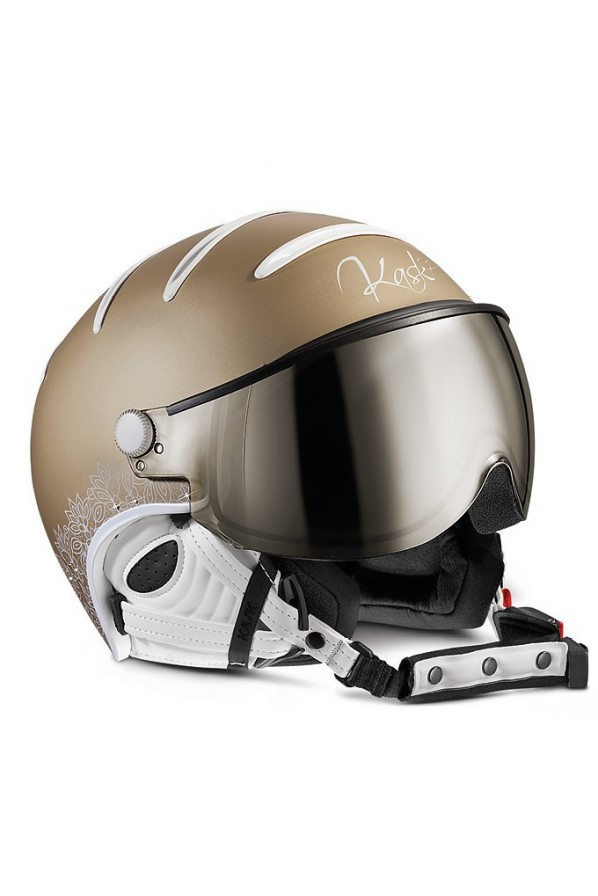 KASK FIRMY KASK ELITE LADY GOLD