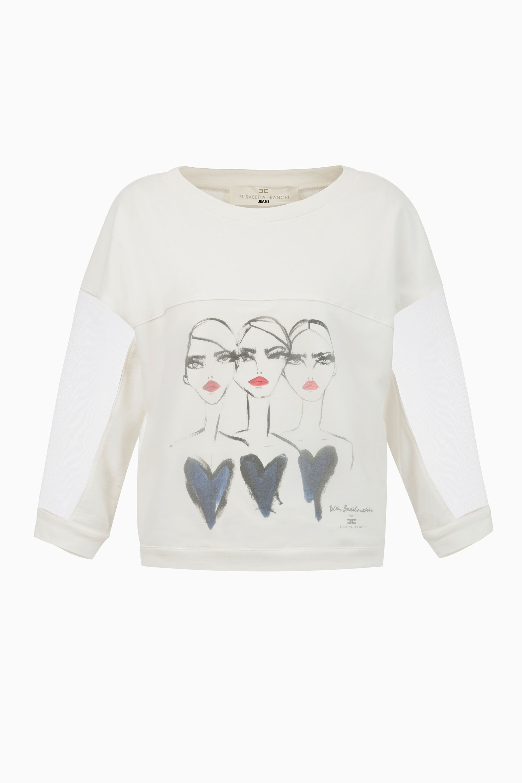 Elisabetta franchi bluza ma6743551