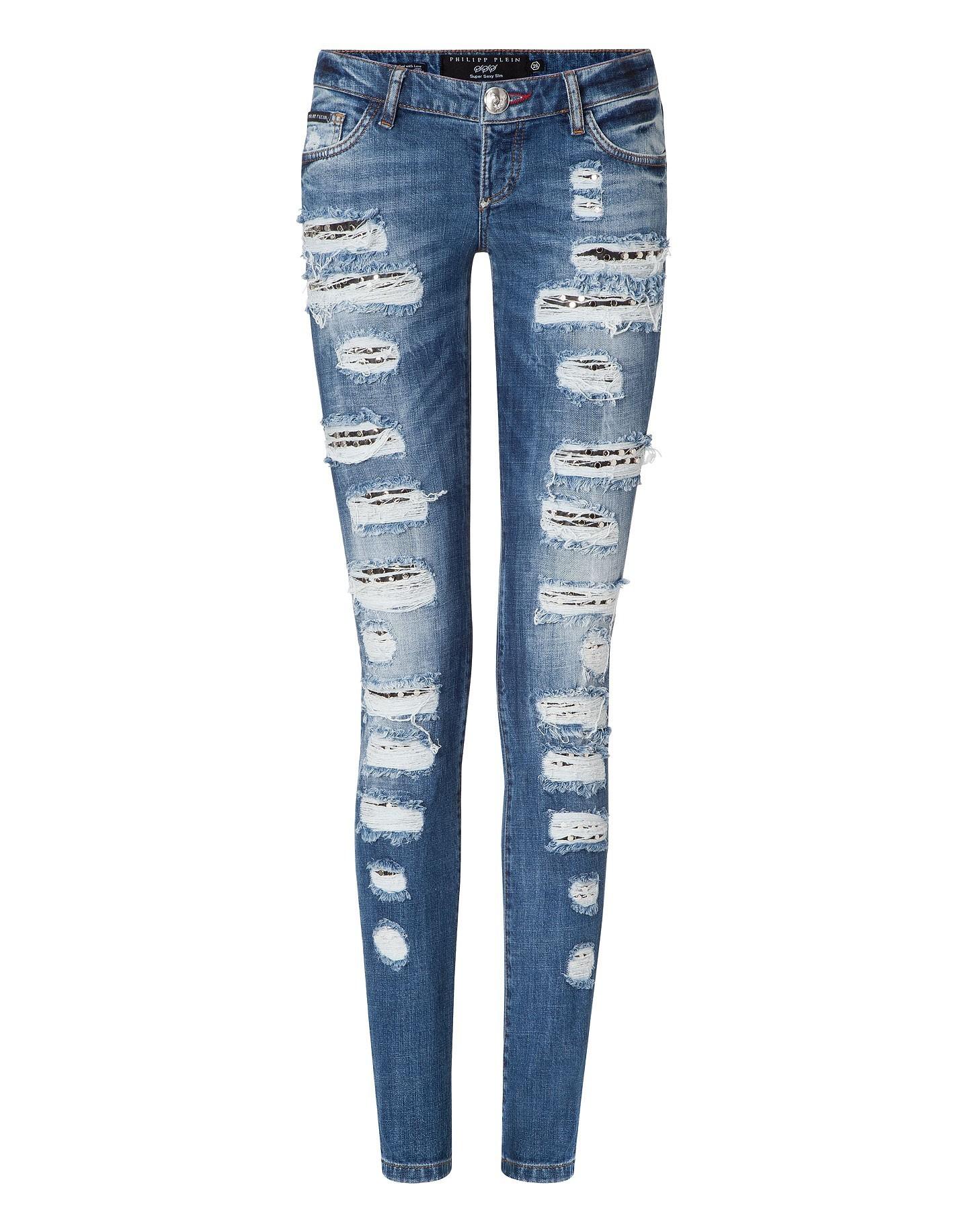 "Philipp plein jeans ""debated"" cw 500644"