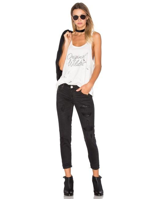 One teaspoon jeans black van awesome baggies