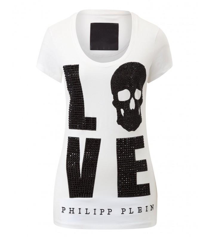 """PHILIPP PLEIN T-SHIRT """"DRINK"""""""