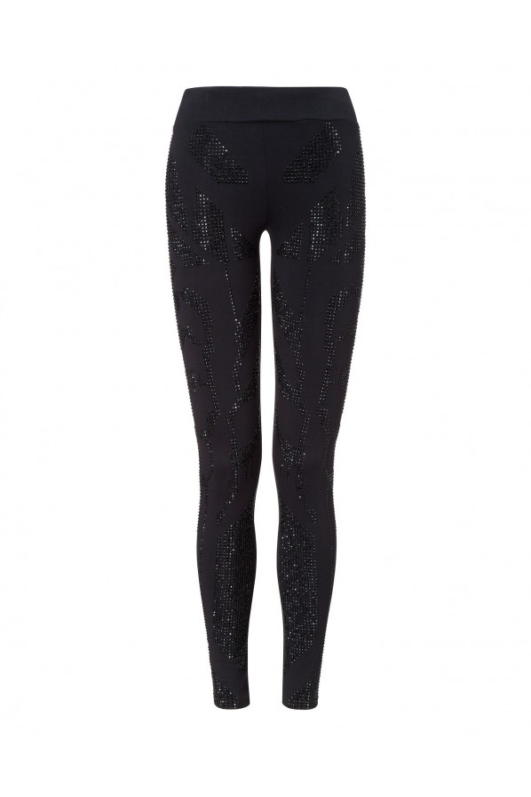 "PHILIPP PLEIN LEGGINSY ""TROUBLE"""