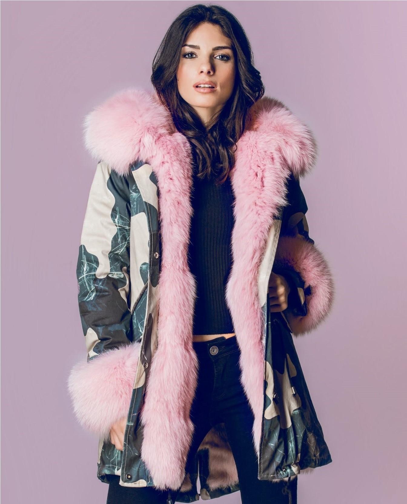 Flo@clo parka clelia pink
